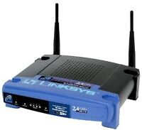 Routeur Linksys BEFW11S4 router Wifi wireless