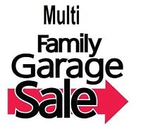 Multi-Family Garage Sale ~ Something for Everyone!