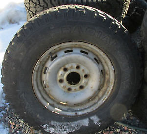 """Four 16"""" Steel Rims. From 97 Chev. 4x4 Pu. Fits See List....."""