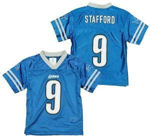 detroit lions youth jersey medium