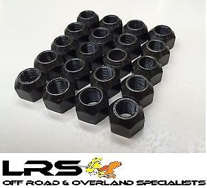 LAND ROVER DISCOVERY STEEL WHEEL NUTS  RRD500010 x 20