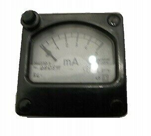 Milliammeter M4230.9 0-5mA with button / # J WSW 2212