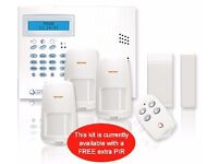 Wireless Burglar Alarm Installed (12 Months Monitoring Included)