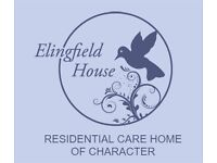 Housekeeper required for small 14 bed Care Home in Totton