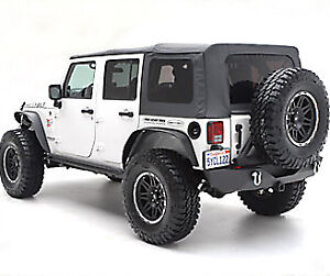 2010 2015 jeep wrangler unlimited replacement soft top with tinted rear windows ebay. Black Bedroom Furniture Sets. Home Design Ideas