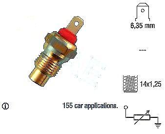 NEW VERNET COOLANT TEMPERATURE SENSOR GAUGE WS2504 FIT FOR CITROEN FIAT PEUGEOT