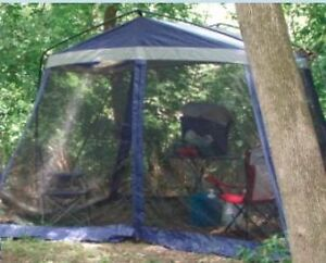 Screened Kitchen tent with canopy