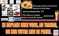 Mécanique Général Aux Garage OU Domicile 7/7 Jours