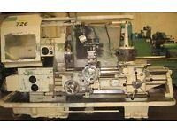 WARD MODEL 7E PRELECTOR LARGE BORE TURRET LATHE YEAR 1977