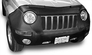 Jeep Liberty Bra Mask Front Cover, Black,  2005 - 2006