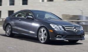 ISO Mercedes e class coupes!