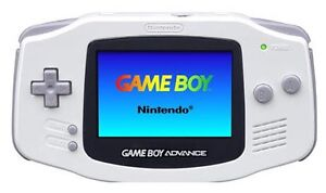 Selling GBA (white) with 8 games