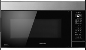 Stainless Panasonic 2.0 CF Over-the-Range Microwave