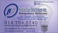 Maitre Électricien à prix très compétitif