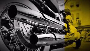 Modification exhaust muffler d'origine Harley Davidson