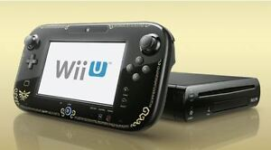 Limited Edition Wind Waker Wii U + Games and Accesories