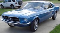 In search of a 67-68 Mustang
