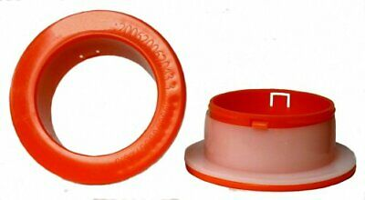 Hand Saver Dispenser For 12 - 18 Hand Wrap Red Spinner 3 Id Each - 1 Pair