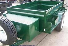 7x4 HEAVY DUTY SUPREME ON OFF ROAD BOX TRAILER CAMPER TRAILER Minto Campbelltown Area Preview