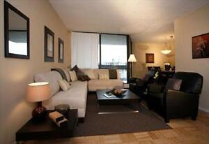 Lakeshore and Third Line: 2220 Marine Drive, 2BR