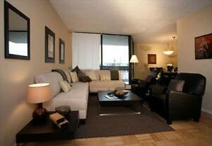 Lakeshore and Third Line: 2220 Marine Drive, 1BR