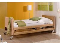 Four-function electric nursing/homecare beds to rent.