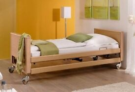 To rent! Four function adjustable electric nursing / homecare / hospital beds £29 p/w or £110 p/m