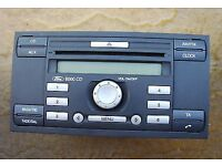 Ford Transit, Focus, Mondeo, C-Max, 6000 CD Head unit - with code