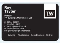 BUILDING & PROPERTY SERVICES based in Essex, serving London & South East