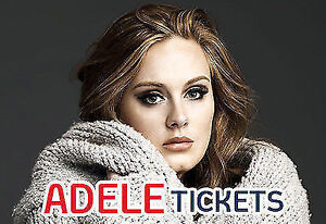 ↠ Adele ↞ Centre Bell, Montreal, SAT Oct 1 7:30 PM