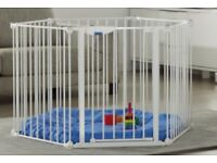 Lindam's Playpen - Be Safe and Secure with your child - Wish i had bought mine earlier!