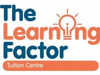 Tutor job at the Learning Factor