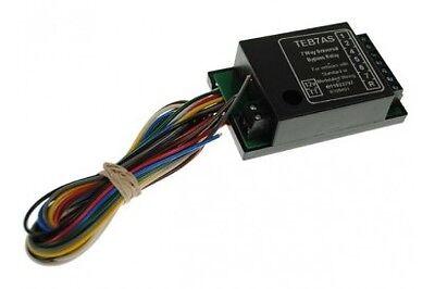 Maypole 7 Way Bypass Relay Buzzer & Smart Chip 12v MP3877 New