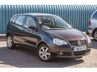 VOLKSWAGEN POLO HATCHBACK 2009 • POLO 1.4 Match 80 5dr Automatic