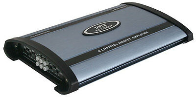 NEW PYLE PLAM3000 3000 WATT 4/2 Channel Car Stereo Amplifier Power Amp Audio on Rummage