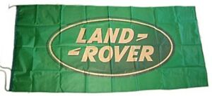 Large Land Rover flag (green on green) 1500mm x 740mm      (of)