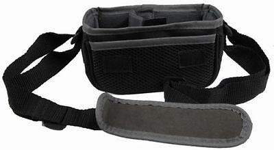 2 JVC Camcorder Digital Camera Bag Padded Pouch Soft Case Black Shoulder Strap