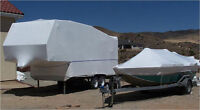 Storage Covers and Shrink Wrap Coverings-BOATS, RVs, SLEDS