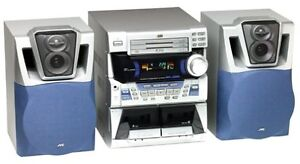 JVC MX-J100 Compact Component Stereo System