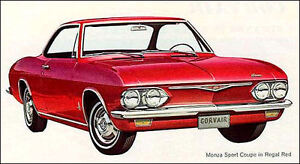 Chevrolet Corvair Mechanic WANTED