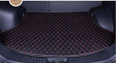 Black 2018 Camry Rear Cargo Liner Tray Leather Trunk Floor Mat Cover for Toyota  Black Rear Floor Mat