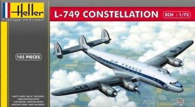 HELLER 1/72 PLASTIC MODEL KIT L-749 CONSTELLATION AIR FRANCE LIVERY HLL80310