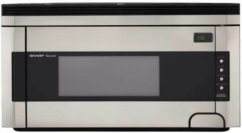 Sharp 1.5 cu. ft. Over-the-Range Microwave Oven in Stainless