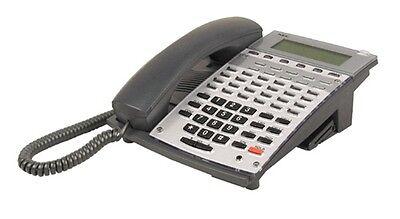 Nec Aspire 34 Button Phone Black 0890045 Ip1na-24txh Tel Good Lcd 1-yr Warranty
