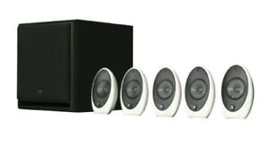 HOME THEATRE SPEAKERS  - KEF 1005.2 SE 5.1 system - NEW - Open B
