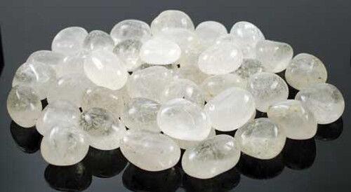 Bulk Lot 1lb Clear Quartz Tumbled Stones Gemstones Chakra Reiki Crystal Healing