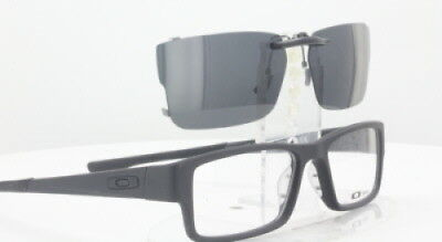 Custom Fit Polarized CLIP-ON Sunglasses For OAKLEY AIRDROP OX8046 55x18 TAB 8046