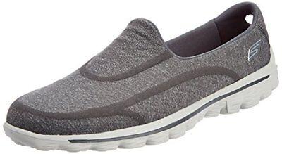 Skechers Go Walk 2 Super Sock GirlsKids Versatile Casual Shoes