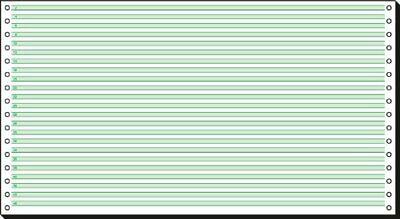 Endlospapier Sigel 08371 Papier ECF 203 x 375mm 60g 2000 Blatt B-WARE OVP fehlt
