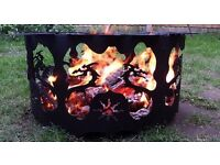 Fire Pit - Chiminea - Celtic Dragon - Patio Heater - Camping - Outdoor Heater - Woodburner